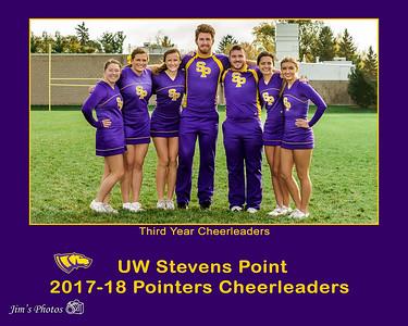 UW Sports - UWSP Cheerleaders [d] Oct 28, 2017