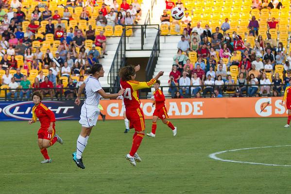 US Women vs China Soccer Game