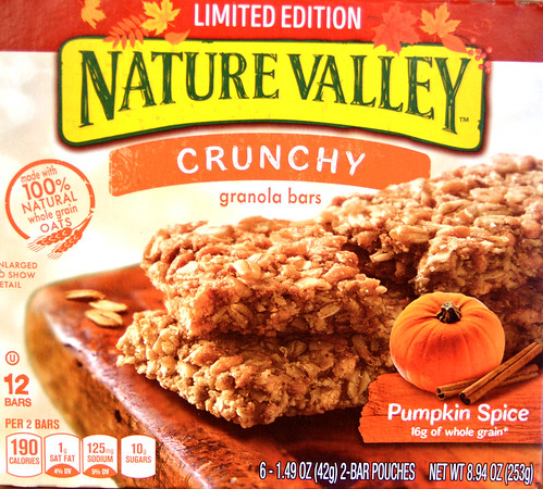 Pumpkin Spice Products - 100917