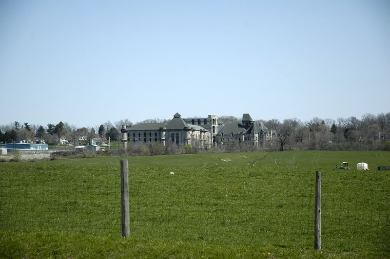 """Ohio State Reformatory   This prison was the setting for the movie """"The Shawshank Redemption"""""""