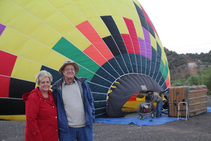 Sandra & Edmund await another adventure