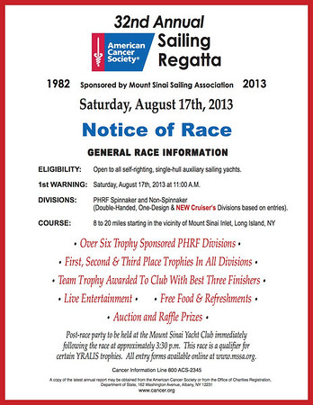 20130817 ACS 32nd Annual Sailing Regatta (VIDEOS)