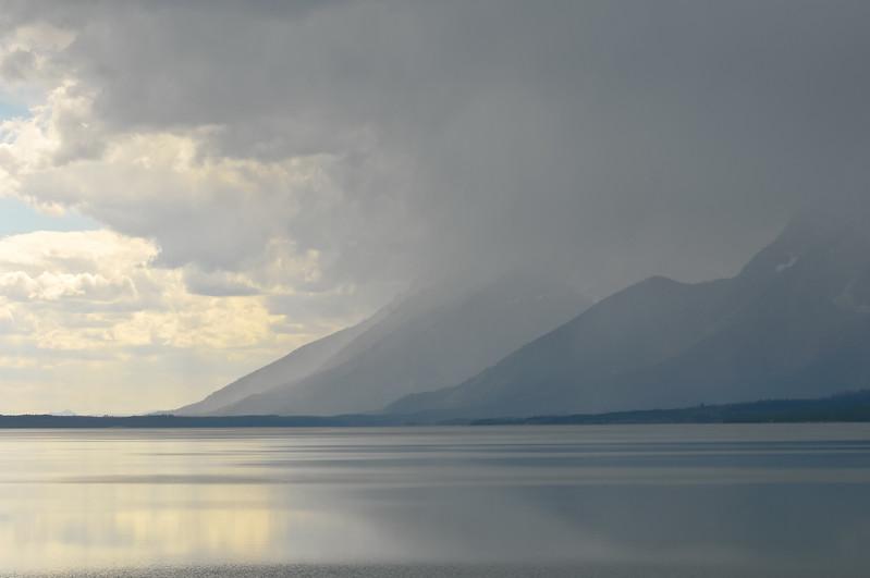 Grand Teton National Park.  Jackson Lake.