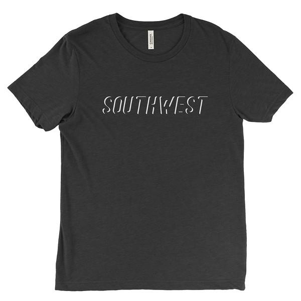 Organ Mountain Outfitters - Outdoor Apparel - Mens T-Shirt - Southwest Dissapear Tee - Heather Black.jpg