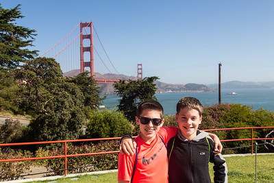 Grandsons' Trip to California