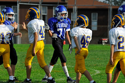 vs St Mikes- 6th Grade 9-6-09