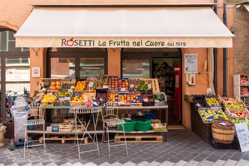 Shop in Ravenna, Italy