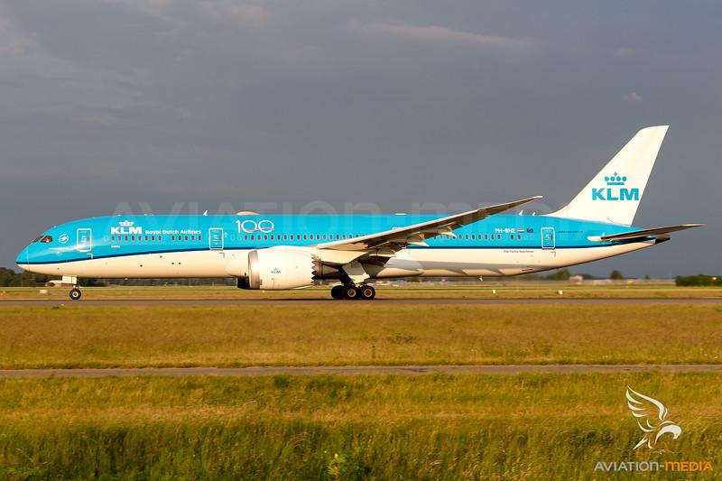 KLM / Boeing 787-9 / PH-BHE