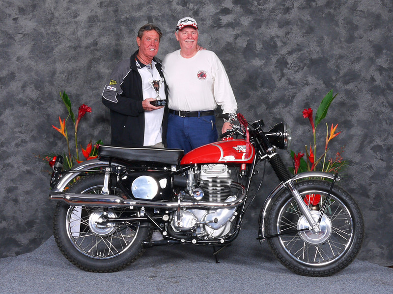 Paul Mooney, 1964 Matchless G80CS