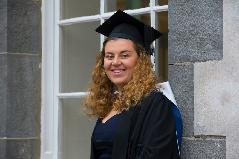 03/11/2017. Waterford Institute of Technology Conferring is Hazel Woods from Gorey. Picture: Patrick Browne.