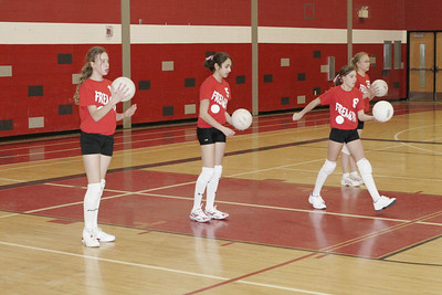 Middle School Girls Volleyball - 2/27/2006 Newaygo