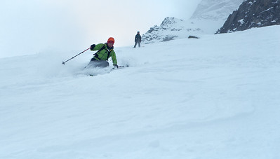 03 Skiing and ice climbing in Lusens