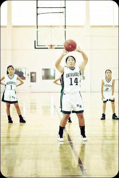 2011 Intermediate II Girls Basketball vs UHS 12/10/11
