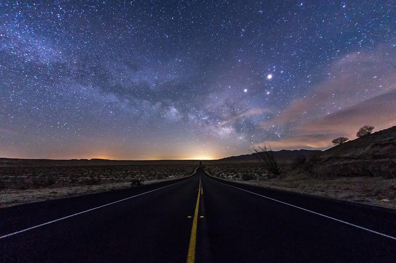 On a Dark Desert Highway