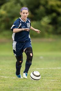 2012 PHS JV Girls Soccer vs Corydon