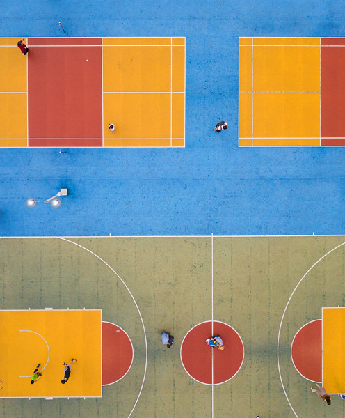 Colorful Courts