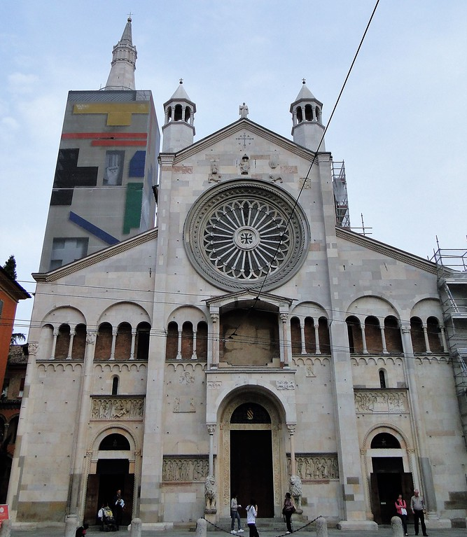 Cathedral of Modena, Italy