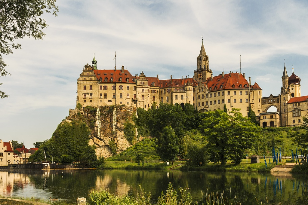 Sigmaringen Castle in Germany