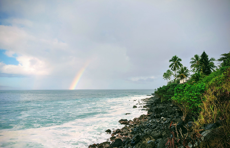 Rainbow on Waimea