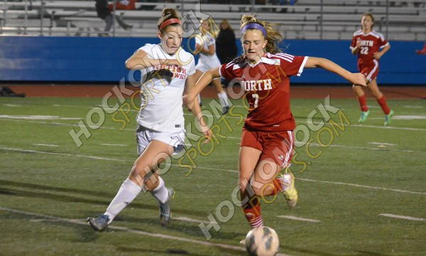 North Attleboro - Natick - Girls Soccer 11-9-16