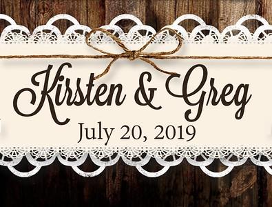 Kirsten & Greg's Wedding!
