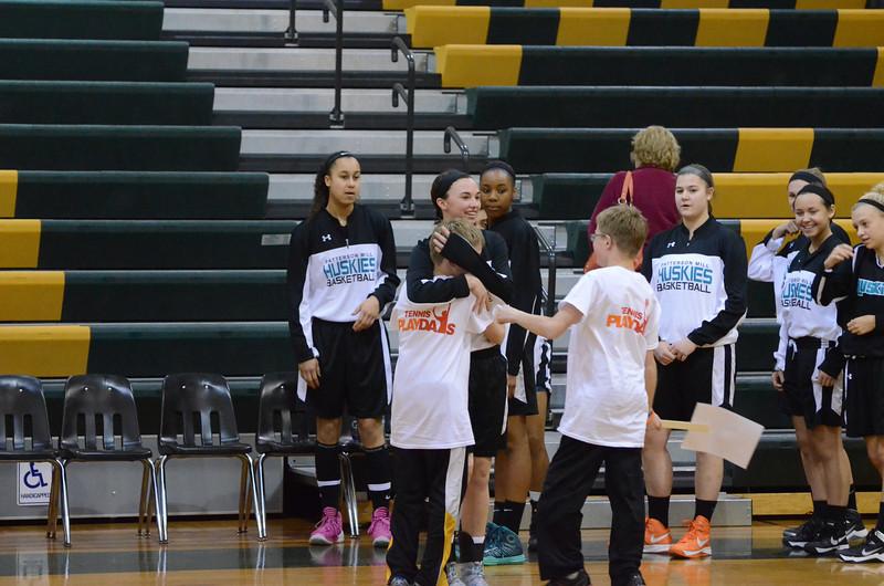 Girls Varsity Basketball Mar8 vs Queen Anne's
