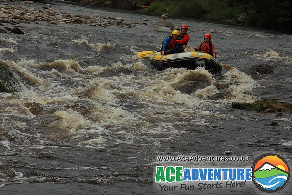 11th Aug 2015 Half Day Rafting