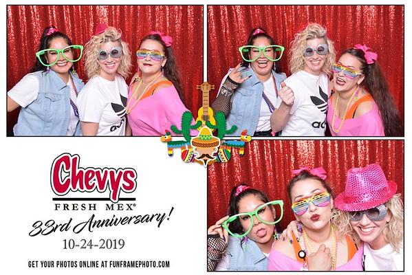 Chevy's Vallejo 33rd Anniversary