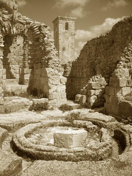 at Qala'at Saladin