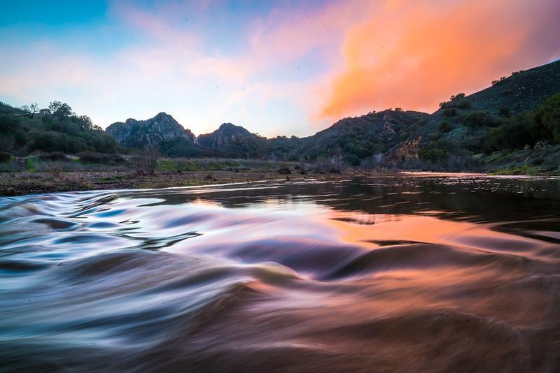 Malibu Canyons Landscape Photography! Elliot McGucken Epic Sunset Fine Art Photography
