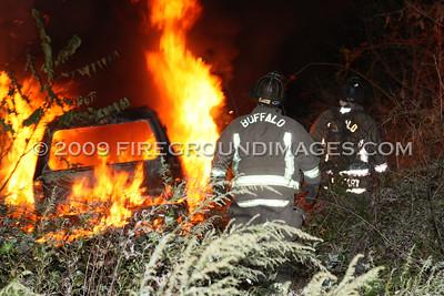 Scajaquada St. Truck Fire (Buffalo, NY) 10/11/09