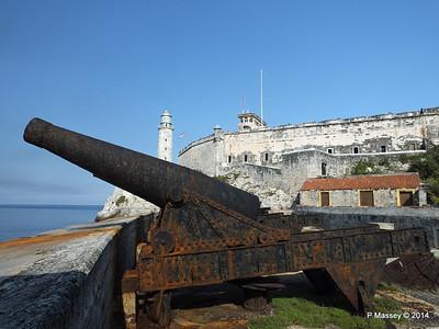 Castillo de los Tres Reyes Magos del Morro, Havana 1 Feb 2014