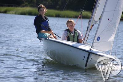 Jr. Sailing — morning — 8 . 12 - 2011