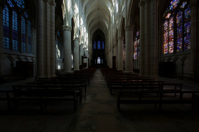 Chalons-en-Champagne Cathedral Nave and Choir
