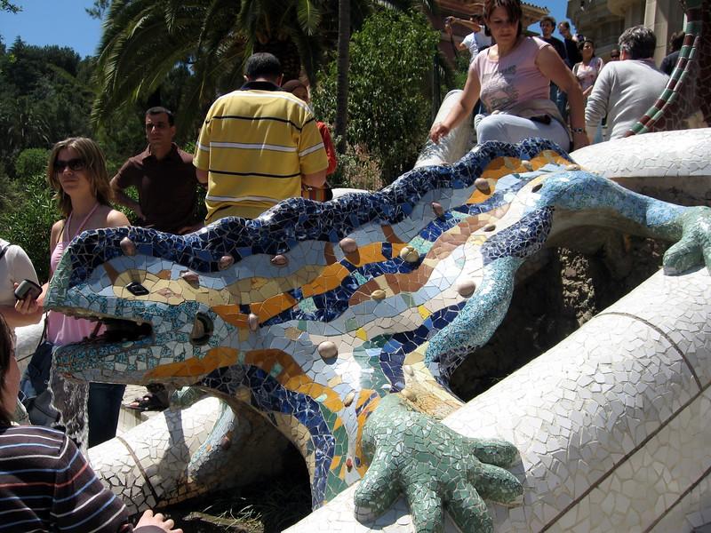 Dragon of Park Güell