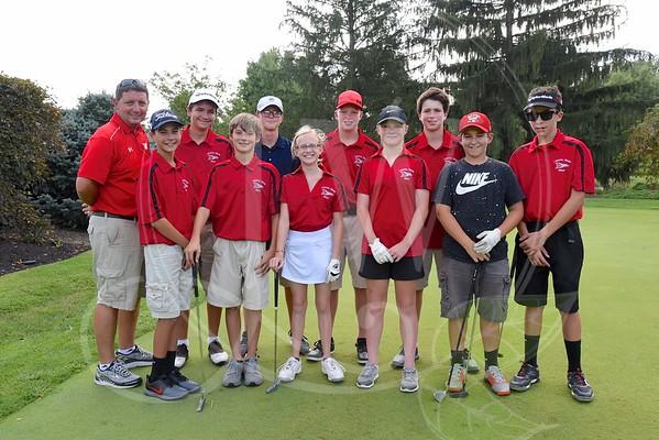 Ridge Boys & Girls Golf vs. Princeton 9.8.16