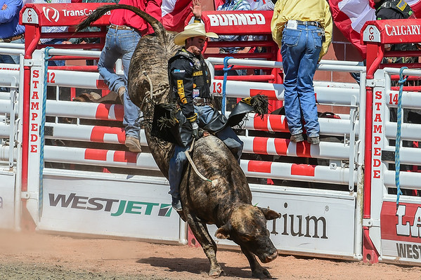 7-13-14 Caglary Stampede - Bull Riding