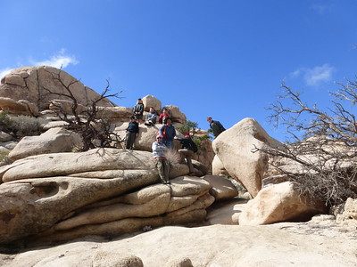 2/19/2017~2/20/2017 Joshua Tree Backpacking
