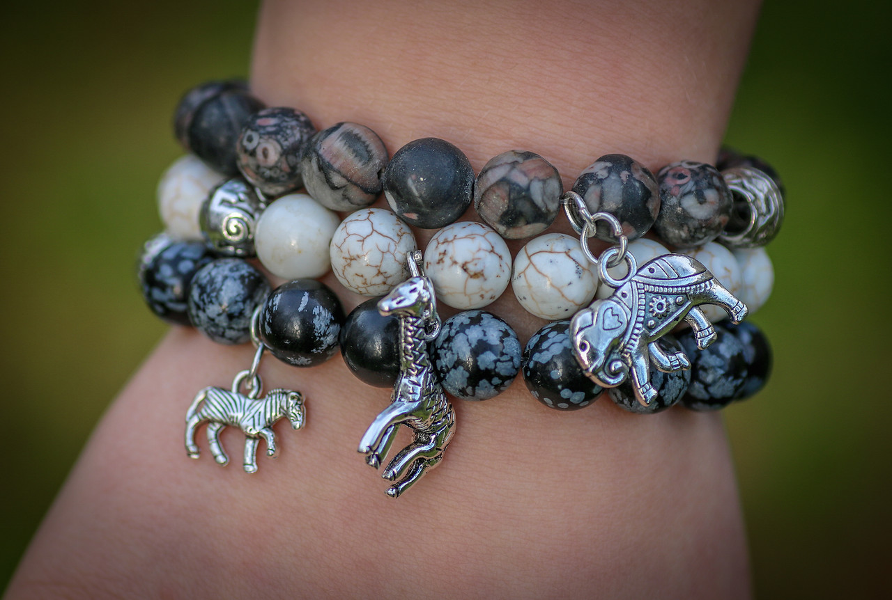 At Green Global Travel shop, you'll discover handcrafted bracelets to celebrate your love of wildlife.