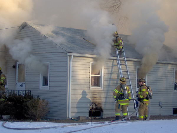 2-1-2009 (Gloucester County) DEPTFORD TWP - Park Ave - Dwelling Fire - All Hands