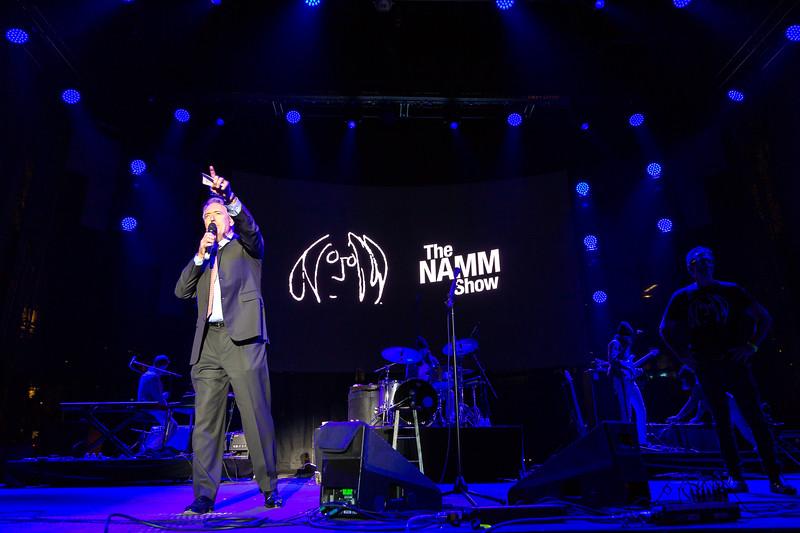 2019_01_26, Anaheim, CA, Imagine Party, Joe Lamond, NAMM, Brian Rothschild