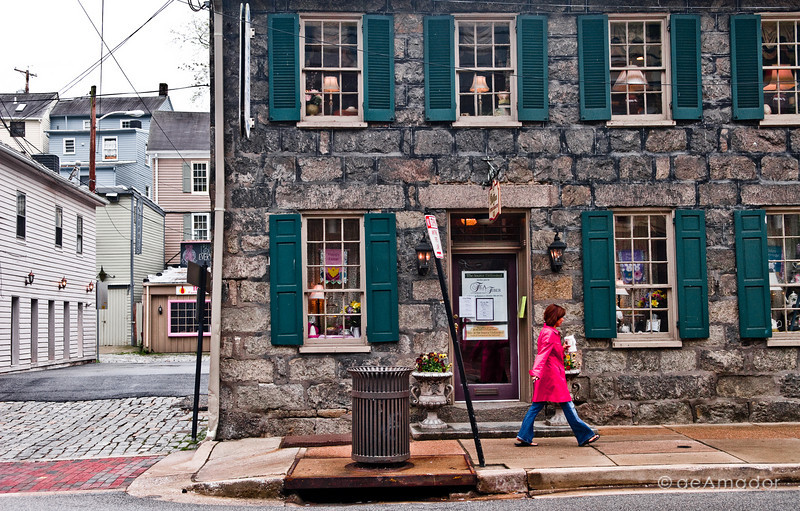 Historic Ellicott City, Maryland