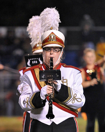 9.10.10 - New Brighton HS Marching Lion Pride (Halftime show)