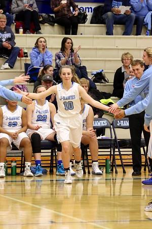 Jefferson vs. Dubuque Senior Girls Basketball 12/6/16
