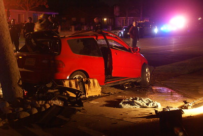Traffic Collision Rescue - Monrovia