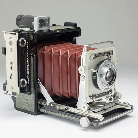 Graflex Century Graphic Grey/Red