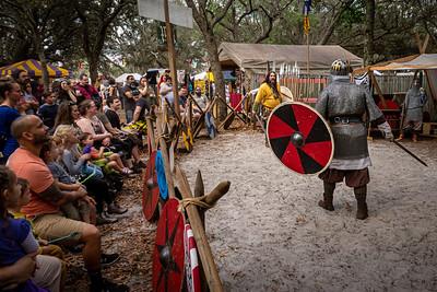 Wyrdwood Vikings Prepare to Duel