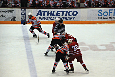 2019 03 09: St. Paul, Minneapolis, Mariucci Arena, Boys Hockey Tournament