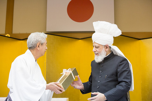 Shrine Visit and Reception