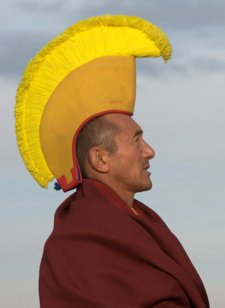 Monk from Thiksey Monastery